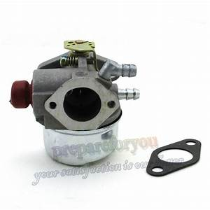 Carburetor Carb For Tecumseh 5hp 6hp 6 5hp 193cc Ohv