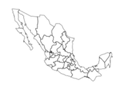 america  mexico map vector graphics