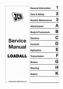 Jcb 520  526 Loadall Service Manual  3610