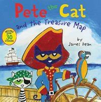 pete  cat   treasure map inspired literacy activities