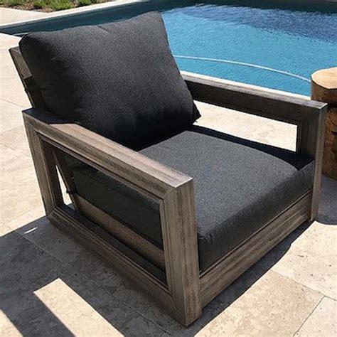 ventura teak patio chair  cushion iksun teak patio
