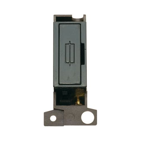 click minigrid md047bk 13a fused connection unit module black at uk electrical supplies