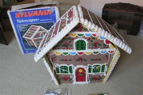 sylvania yulescapes  gingerbread house christmas