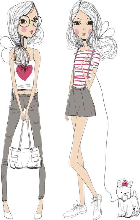 Cute sketches | Fashion illustration, Illustration girl ...