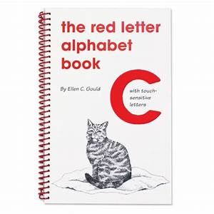 the red letter alphabet book for small hands With red letter christian book