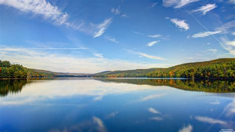 Lake Surrounded 4k Wallpaper