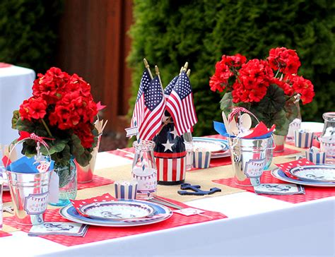 4th of july themed quot from sea to shining sea quot themed 4th of july party inspired by this
