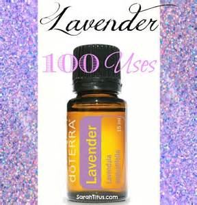 doTERRA Lavender Essential Oil Uses