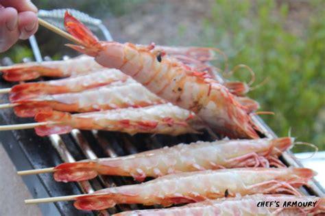 chef kitchen knives how to prepare bbq prawns