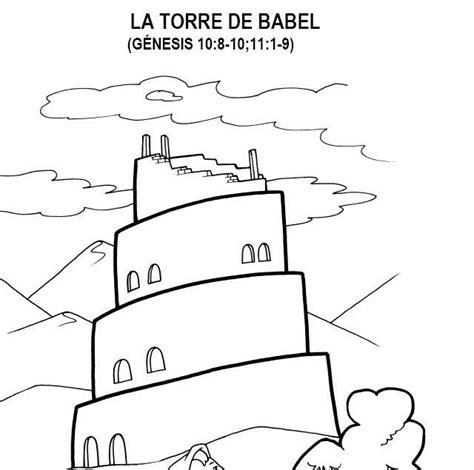 Imagenes De La Torre De Babel Para Colorear