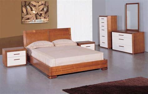7 bedroom set solid wood modern teak white 2 toned 5 solid wood