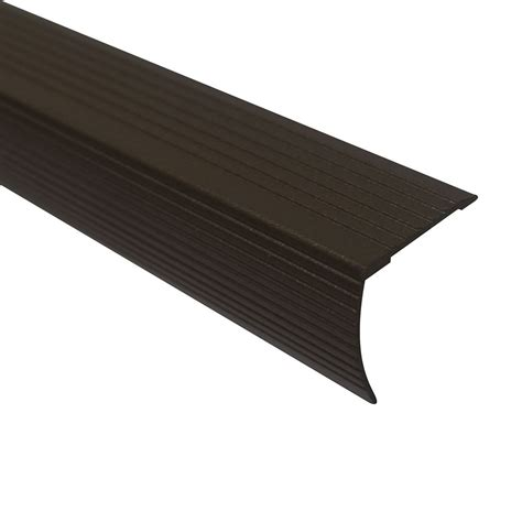 stair edging home depot m d building products cinch stair edging 36 inch spice the home depot canada