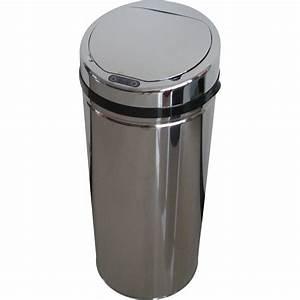 Poubelle De Cuisine Automatique SELEKTA Plastique Inox 42