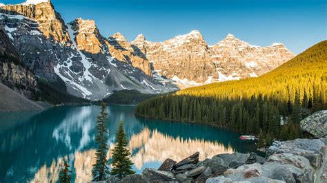 national park moraine nature reserve glacial lake lake