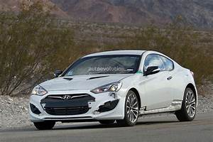 New 2017 Hyundai Genesis Coupe Spied For The First Time