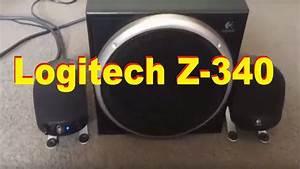 Logitech Z-340 2 1 Speaker System Is Nice