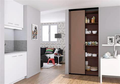 portes de placard coulissantes de cuisine sur mesure