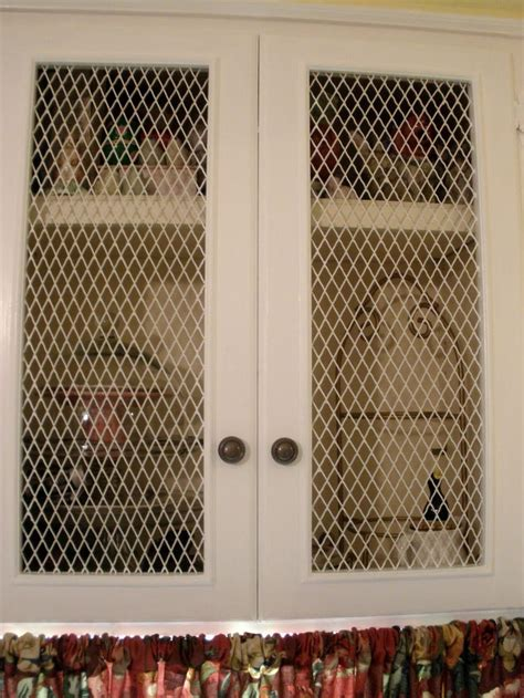 wire mesh kitchen cabinets the doors on kitchen cabinets with chicken wire note 1558