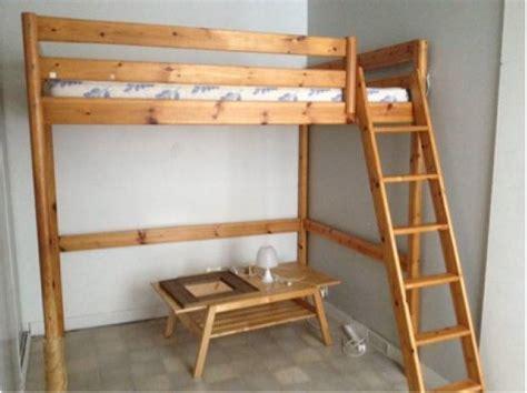 canapé lit 150 cm lit mezzanine 2 places clasf