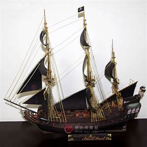 Paper model ship Pirates of the Caribbean Black Pearl ...