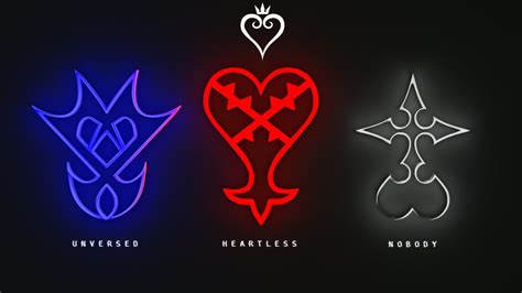 Kingdom Hearts Symbol Wallpaper