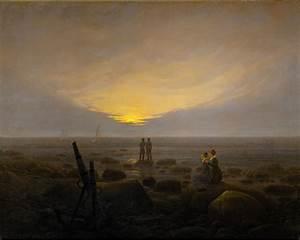 Caspar David Friedrich Romantik : lever de lune sur la mer wikip dia ~ Frokenaadalensverden.com Haus und Dekorationen