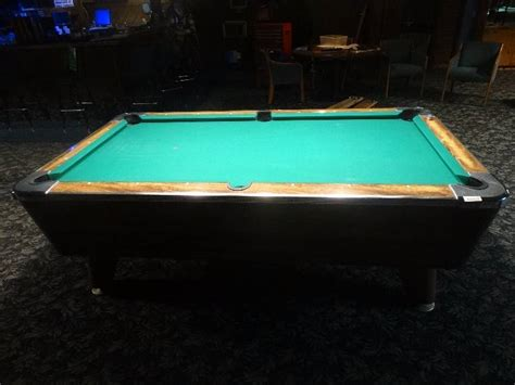 valley coin op bar size pool table slate top wichita