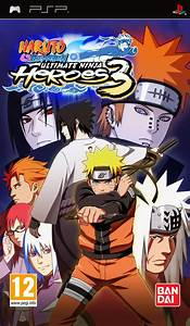 Naruto Ultimate Ninja Heroes 3 Sur PlayStation Portable