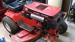 Wheelhorse 520h Garden Tractor Loader1 Tractors
