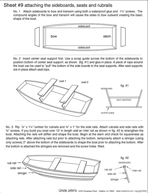 building  wooden jon boat  simple plans  small