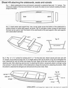 Free Plywood Jon Boat Plans