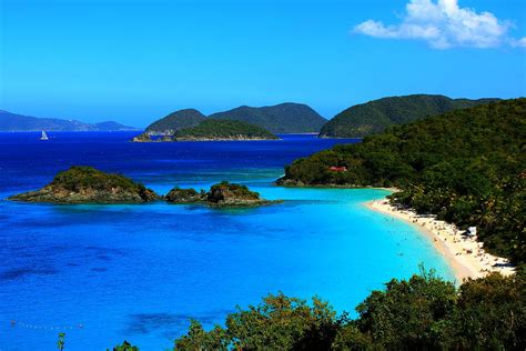 Trunk Bay St John Us Virgin Islands Photograph By Justin