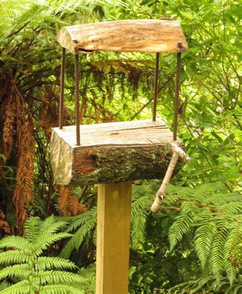 diy bird feeder pole a bird feeder rediscover