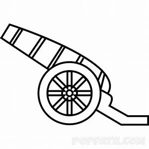 How To Draw A Cannon – Pop Path