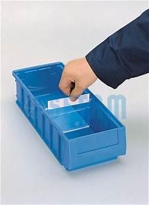 Caisse Plastique Tiroir : s paration avec tiquette pour bac tiroir plastique ~ Edinachiropracticcenter.com Idées de Décoration
