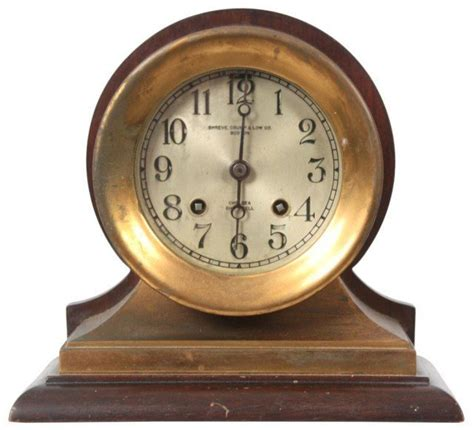 chelsea ships clock chelsea ship s bell mantle clock price guide 2138
