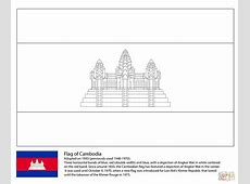 Flag of Cambodia coloring page Free Printable Coloring Pages