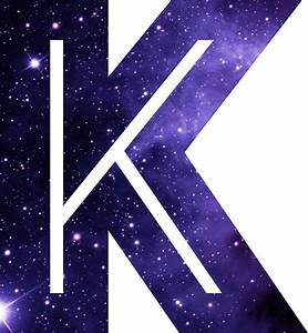 """The Letter K - Space"" Stickers by Mike Gallard Redbubble"
