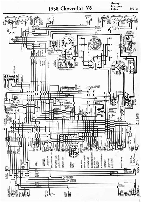 Wiring Diagrams Chevrolet Circuit