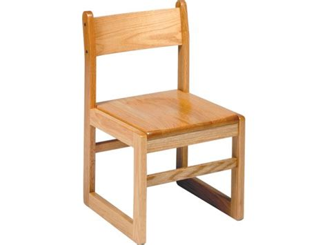 sled base wooden library chair 15 5 quot h library chairs