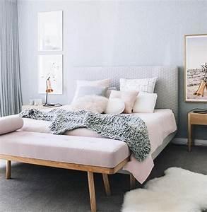 Parure De Lit Rose Et Gris : 1001 conseils et id es pour une chambre en rose et gris sublime ~ Melissatoandfro.com Idées de Décoration