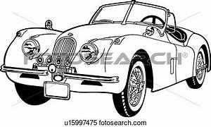 jaguar car clipart clipart suggest With 1953 jaguar c type