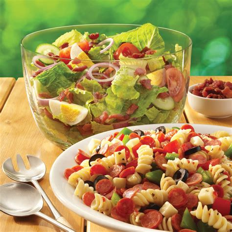 This tuna macaroni salad recipe easily feeds 10 to 12 people as a side and is perfect for your next picnic. Add an Italian flair to your summer suppers with the Pepperoni Pasta Salad. | Food & Drink ...