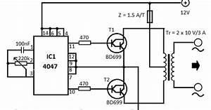 Electrical Engineering World  12v Dc To 220v Ac Converter