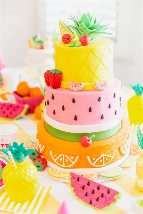 shopkins flower stand two tti fruity birthday blakely turns 2 pizzazzerie