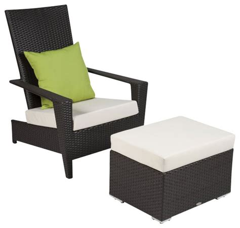 martano stackable chair with ottoman contemporary
