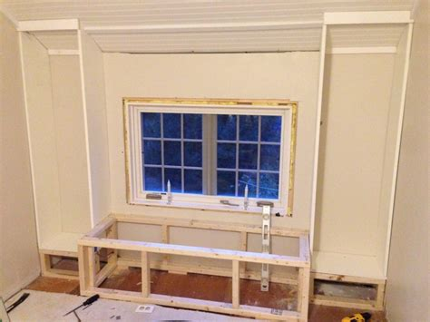 how to build a built in bookcase with doors diy how to build a window seat and built in bookcases