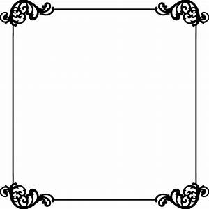 White Elegant Lines Clipart - Clipart Suggest