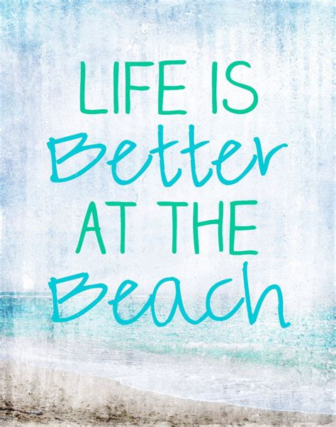 50 Warm And Sunny Beach Quotes — Style Estate