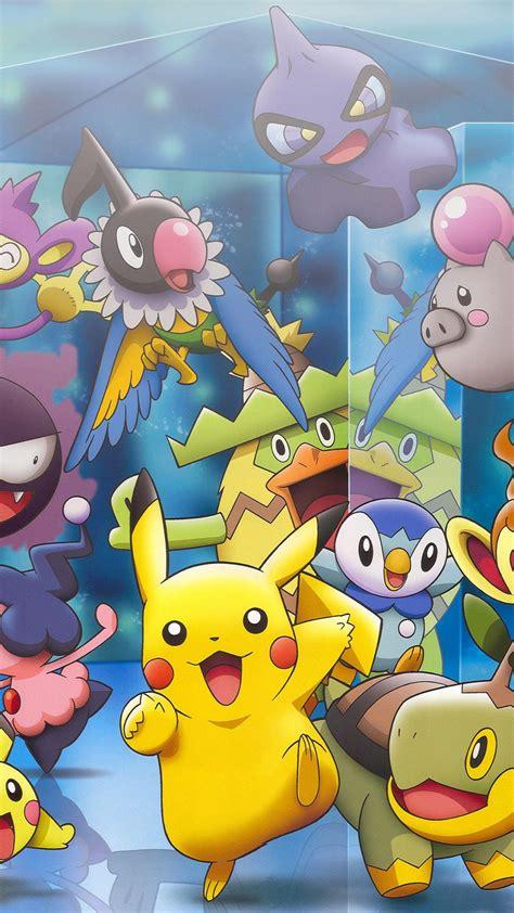 pokemon characters iphone  hd wallpaper hd